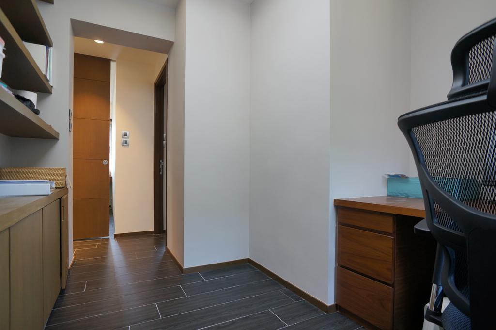 簡約, 私家樓, 書房, 龍騰閣, 室內設計師, 和生設計, Chair, Furniture