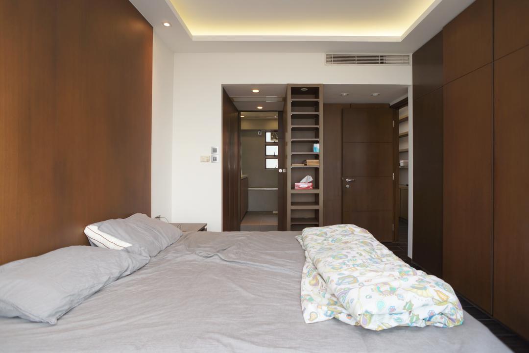 龍騰閣, 和生設計, 簡約, 睡房, 私家樓, Bed, Furniture