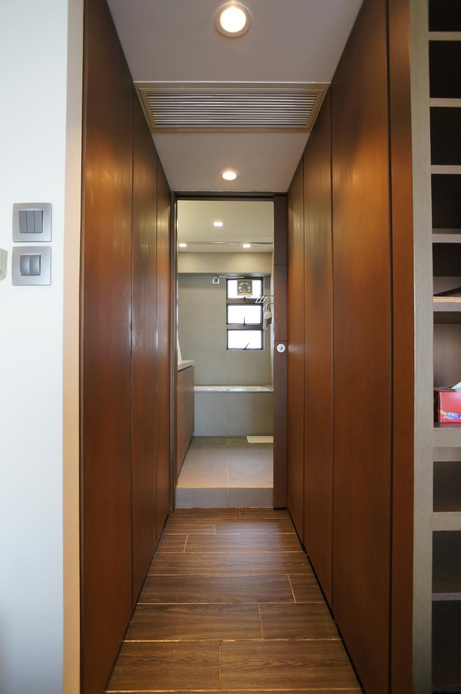簡約, 私家樓, 睡房, 龍騰閣, 室內設計師, 和生設計, Door, Folding Door
