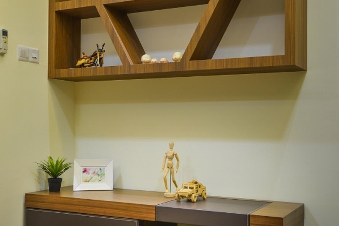 Setia Eco Park 2, Surface R Sdn. Bhd., Traditional, Bedroom, Landed, Flora, Jar, Plant, Potted Plant, Pottery, Vase, Toy, Art, Blossom, Flower, Flower Arrangement, Ikebana, Ornament, Shelf