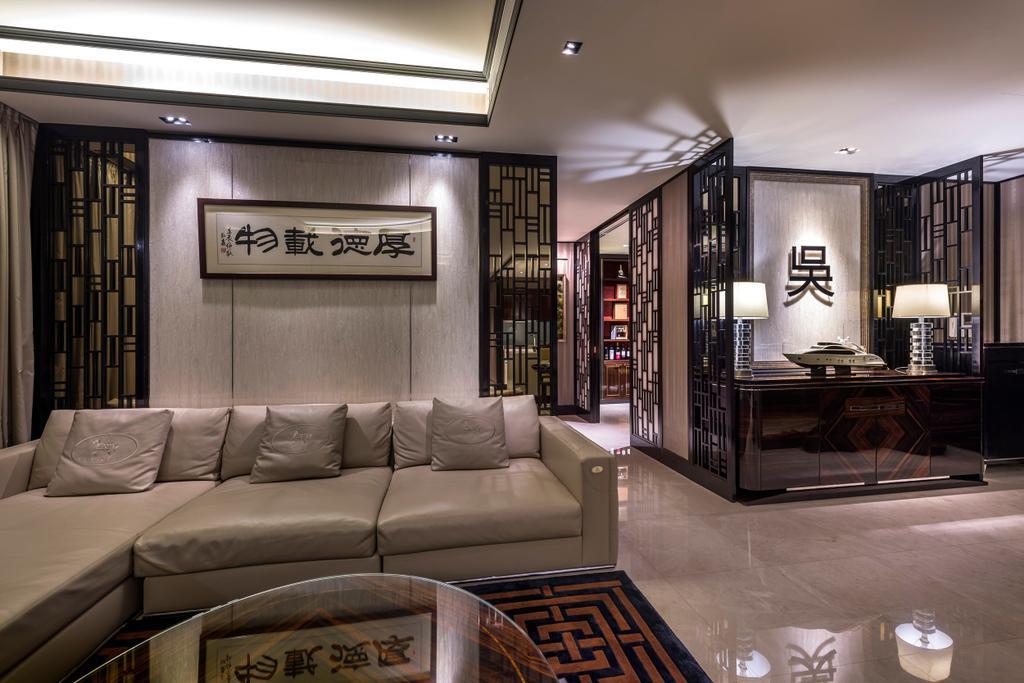Eclectic, Condo, Living Room, Concourse Skyline, Interior Designer, akiHAUS, Couch, Furniture, Chair, Indoors, Interior Design, Room