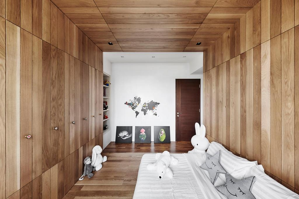 Modern, Condo, Bedroom, River Place, Interior Designer, akiHAUS, Indoors, Interior Design