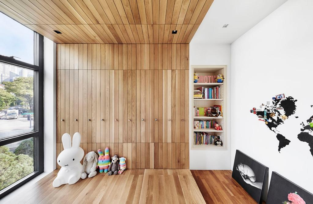 Modern, Condo, Bedroom, River Place, Interior Designer, akiHAUS, Art, Graphic Design, Indoors, Interior Design, Hardwood, Wood