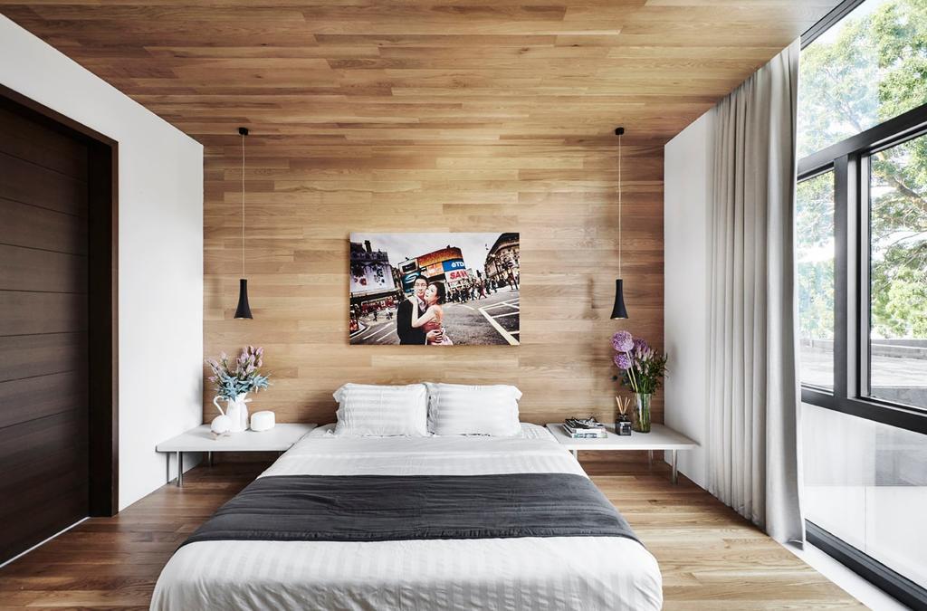 Modern, Condo, Bedroom, River Place, Interior Designer, akiHAUS, Collage, Poster, Indoors, Interior Design