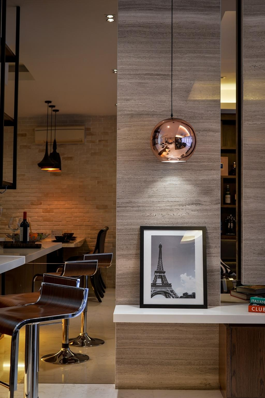 Contemporary, Condo, Dining Room, Damansara Heights, Interior Designer, Surface R Sdn. Bhd., Sink, Chair, Furniture, Indoors, Interior Design