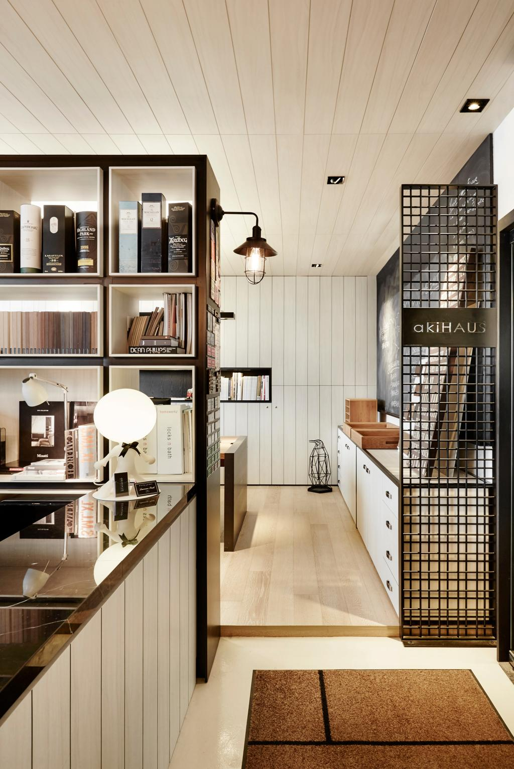 akiHAUS Office, Commercial, Interior Designer, akiHAUS, Eclectic, Indoors, Interior Design, Appliance, Electrical Device, Oven