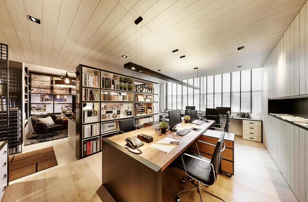 akiHAUS Office, Commercial, Interior Designer, akiHAUS, Eclectic, Chair, Furniture, Indoors, Interior Design