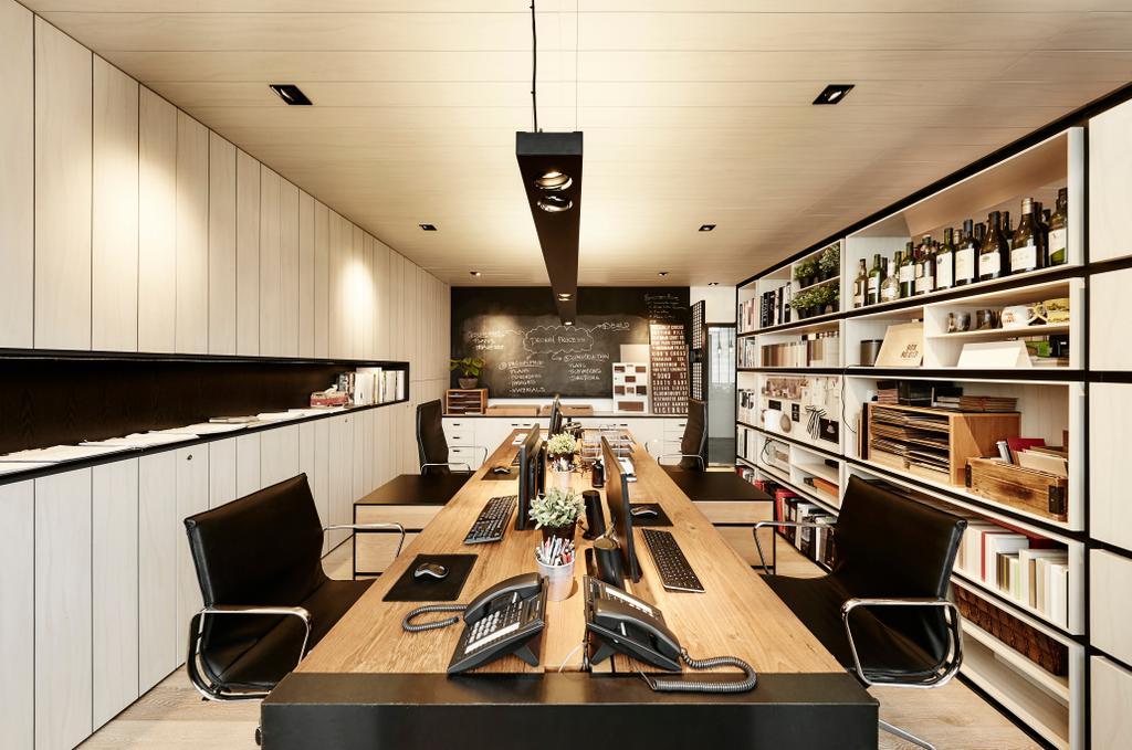 akiHAUS Office, Commercial, Interior Designer, akiHAUS, Eclectic, Chair, Furniture, Cafe, Restaurant
