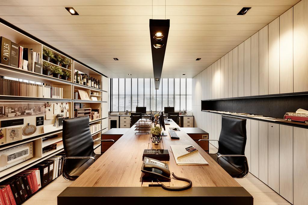 akiHAUS Office, Commercial, Interior Designer, akiHAUS, Eclectic, Chair, Furniture, Restaurant