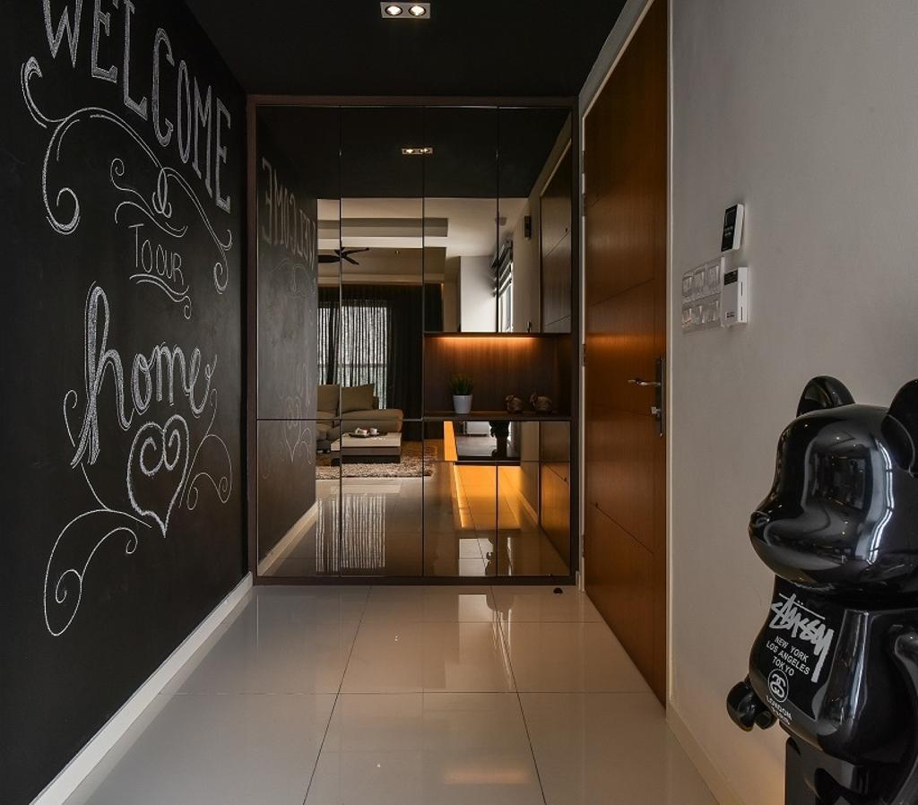 Contemporary, Condo, Segambut, Interior Designer, Surface R Sdn. Bhd.