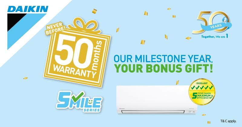 Daikin Smile Series Air Con
