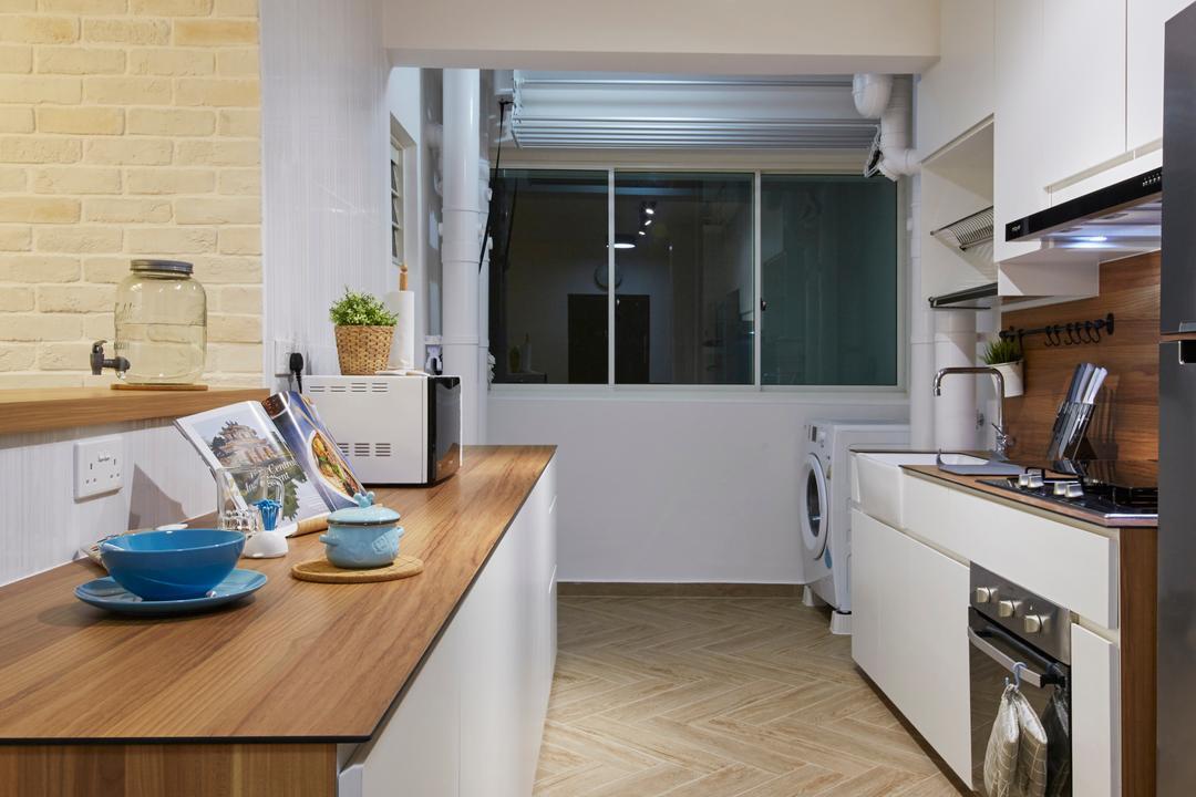 Bukit Batok Street 22, Carpenters 匠, Scandinavian, Kitchen, HDB, Indoors, Interior Design, Room, Bowl