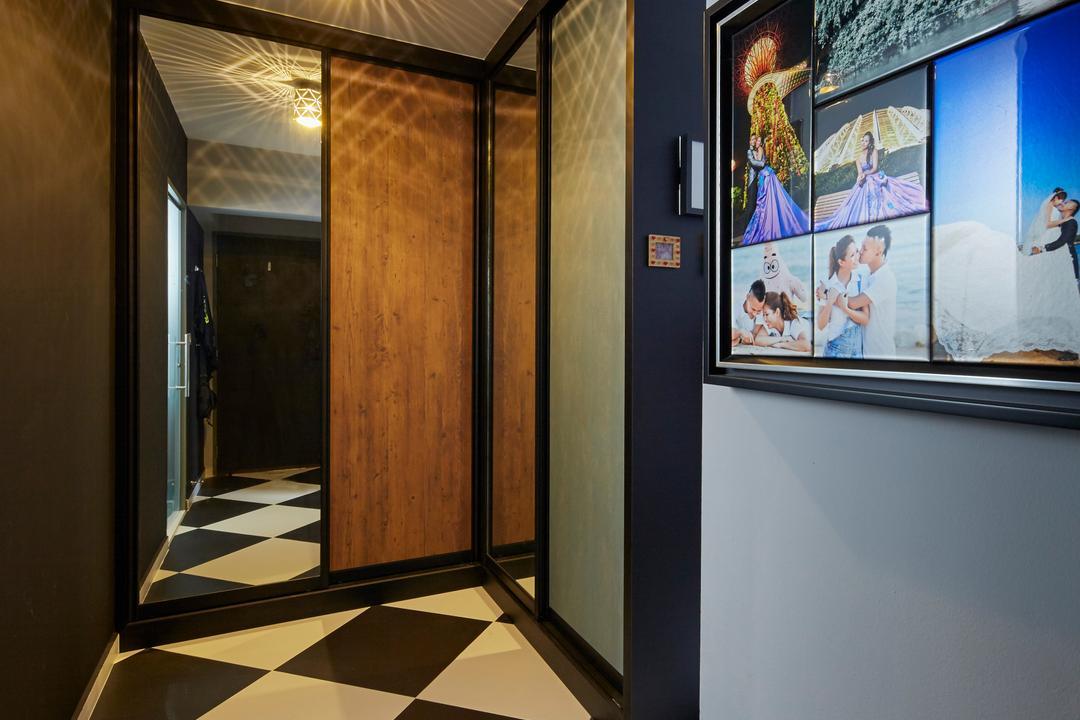 Boon Lay Avenue, Carpenters 匠, Contemporary, Retro, Kitchen, HDB, Shop, Window Display, Corridor