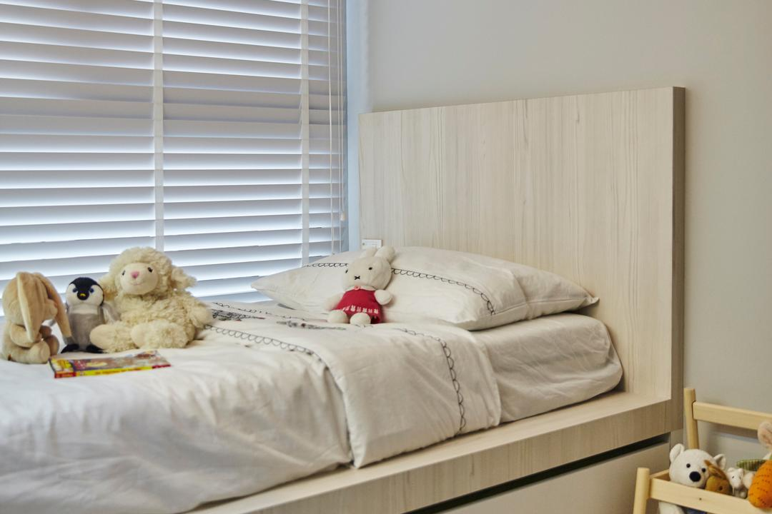 Bellewaters, Carpenters 匠, Modern, Minimalistic, Condo, Teddy Bear, Toy, Bed, Furniture