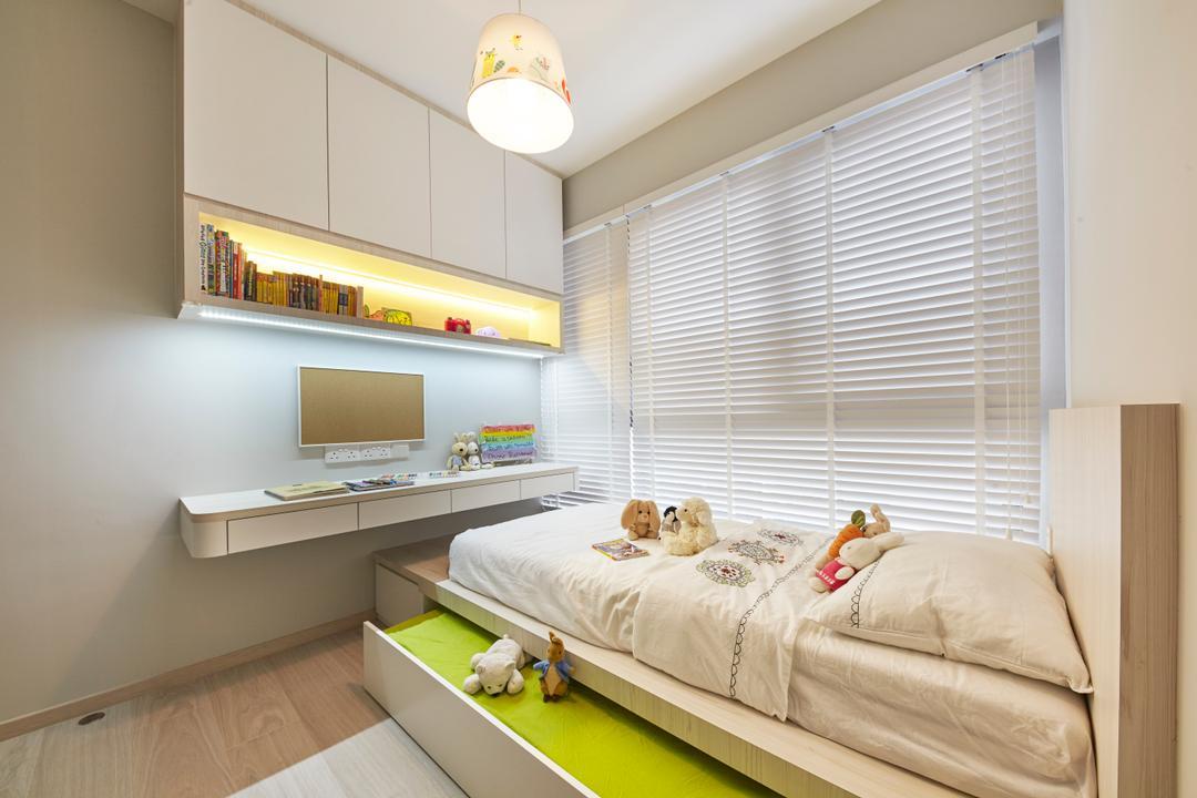Bellewaters, Carpenters 匠, Modern, Minimalistic, Condo, Indoors, Interior Design, White Board