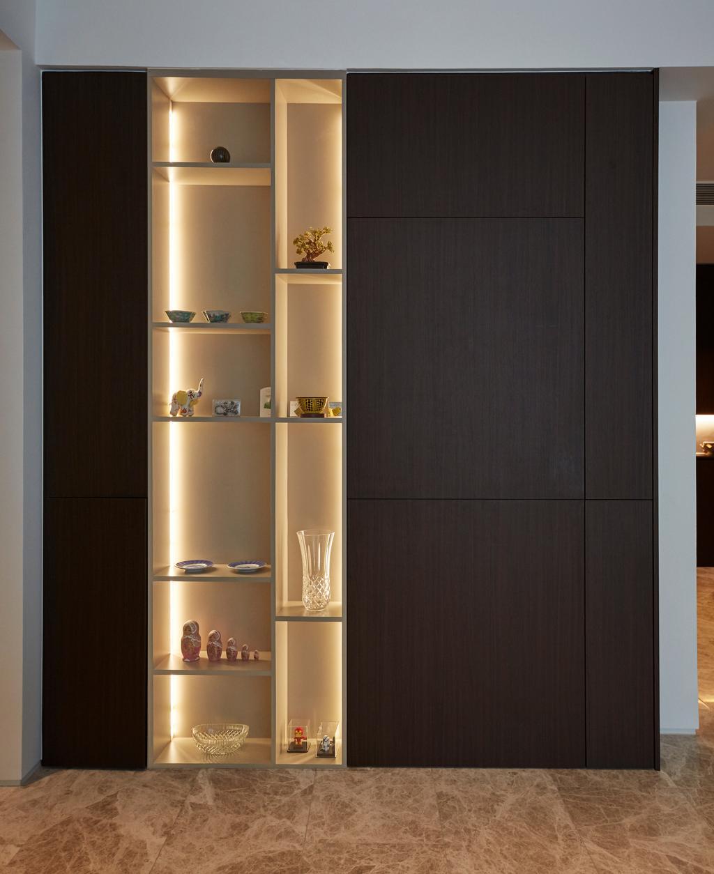 Contemporary, Condo, Living Room, Corals at Keppel Bay, Interior Designer, Carpenters 匠