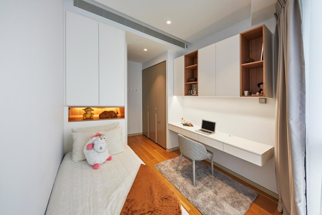 Contemporary, Condo, Bedroom, Corals at Keppel Bay, Interior Designer, Carpenters 匠, Indoors, Interior Design, Room, HDB, Building, Housing