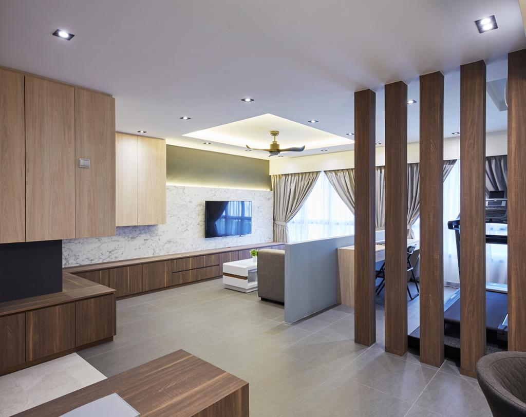Modern, HDB, Woodlands Rise, Interior Designer, Carpenters 匠, Indoors, Interior Design, Furniture, Sideboard