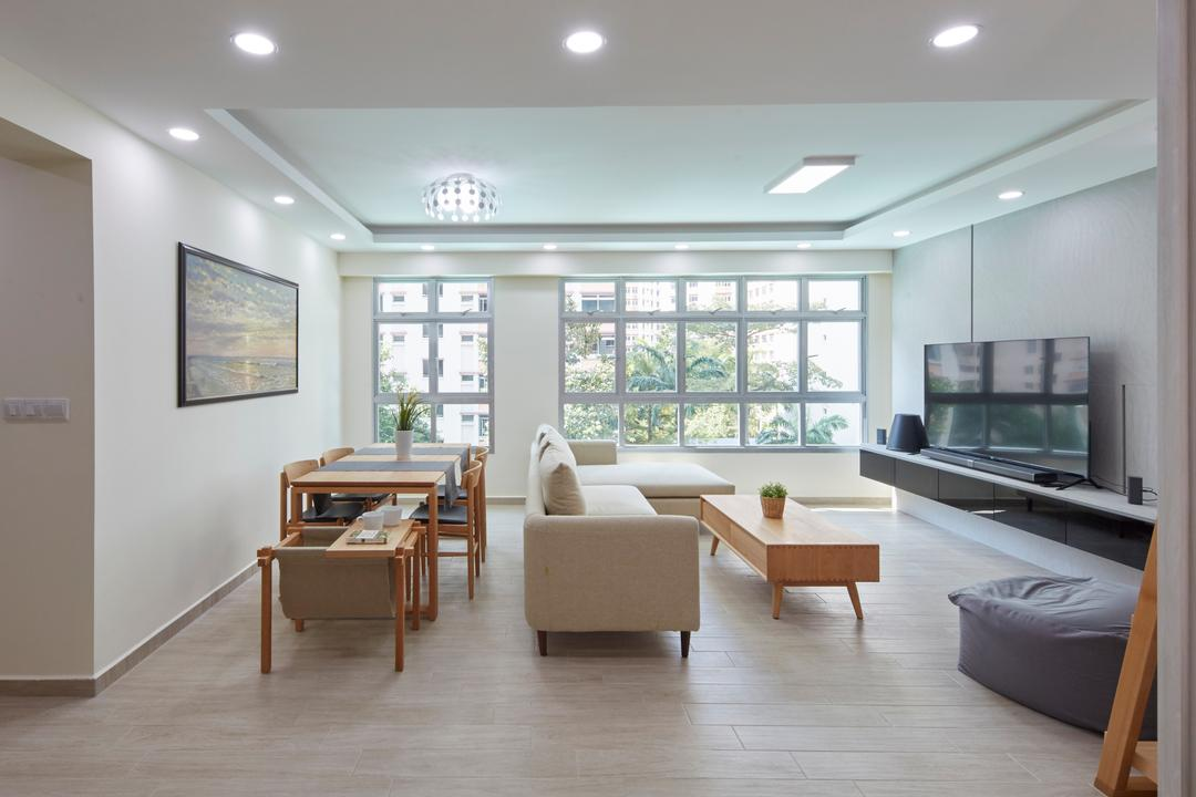 Yung Kuang Road, Carpenters 匠, Modern, Minimalistic, HDB, Coffee Table, Furniture, Table, Couch