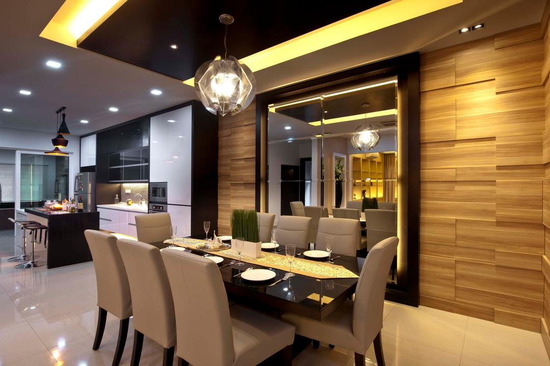Aman Sari, Surface R Sdn. Bhd., Traditional, Dining Room, Landed, Chair, Furniture, Indoors, Interior Design, Room, Couch, Building, Factory, Restaurant, Lighting, Dining Table, Table