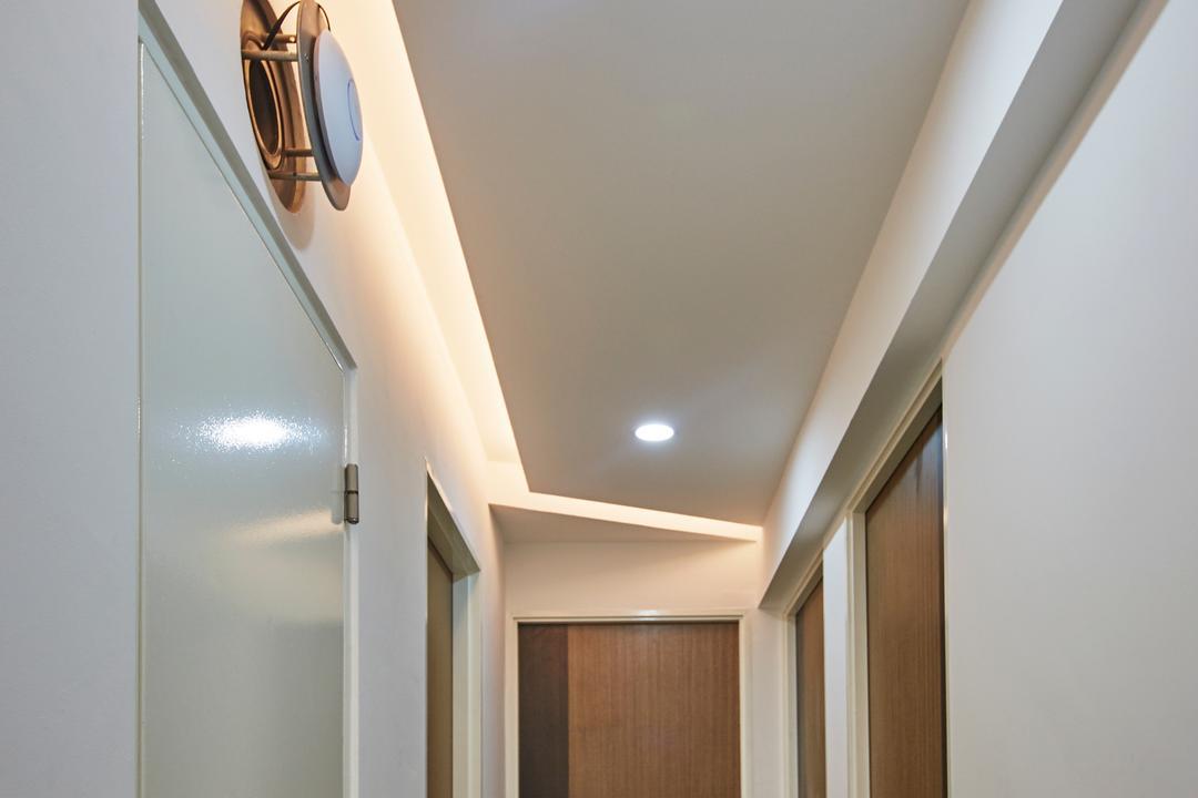 Punggol Drive, Carpenters 匠, Modern, HDB, Basement, Indoors, Room