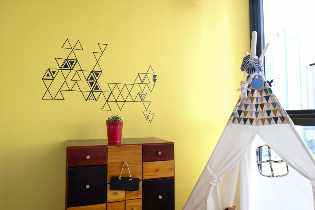 The Trilinq, Carpenters 匠, Contemporary, Eclectic, Bedroom, Condo, Drawer, Furniture