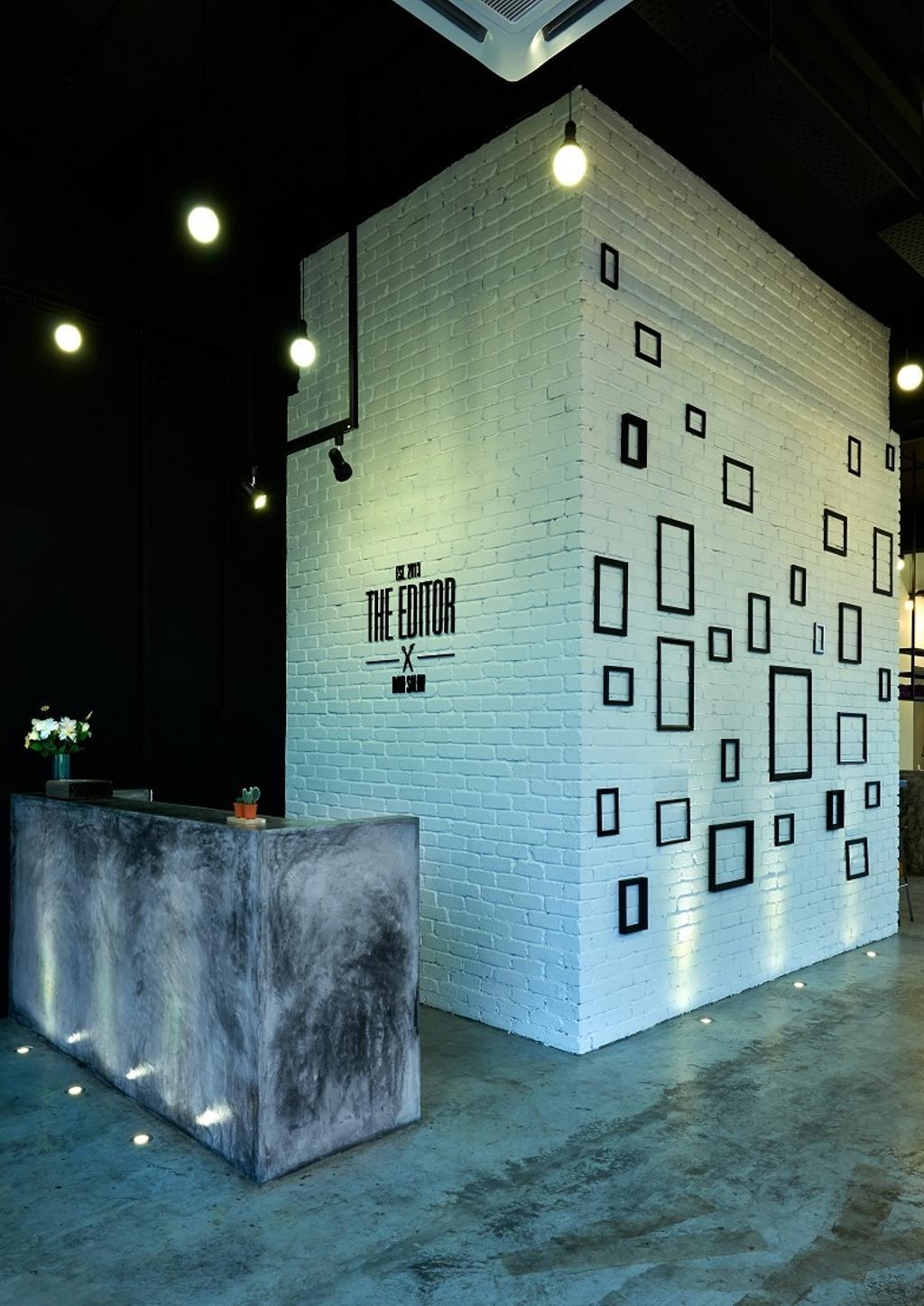 The Editor Hair Salon Ground Floor, Commercial, Interior Designer, Surface R Sdn. Bhd., Industrial