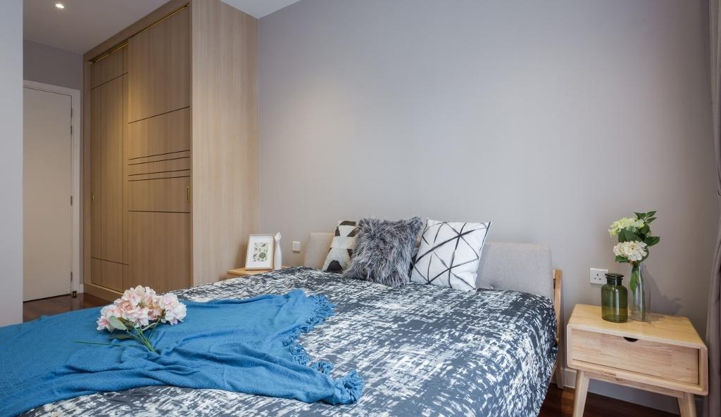Transitional, Landed, Bedroom, Kota Kemuning, Interior Designer, A Moxie Associates Sdn Bhd, Eclectic