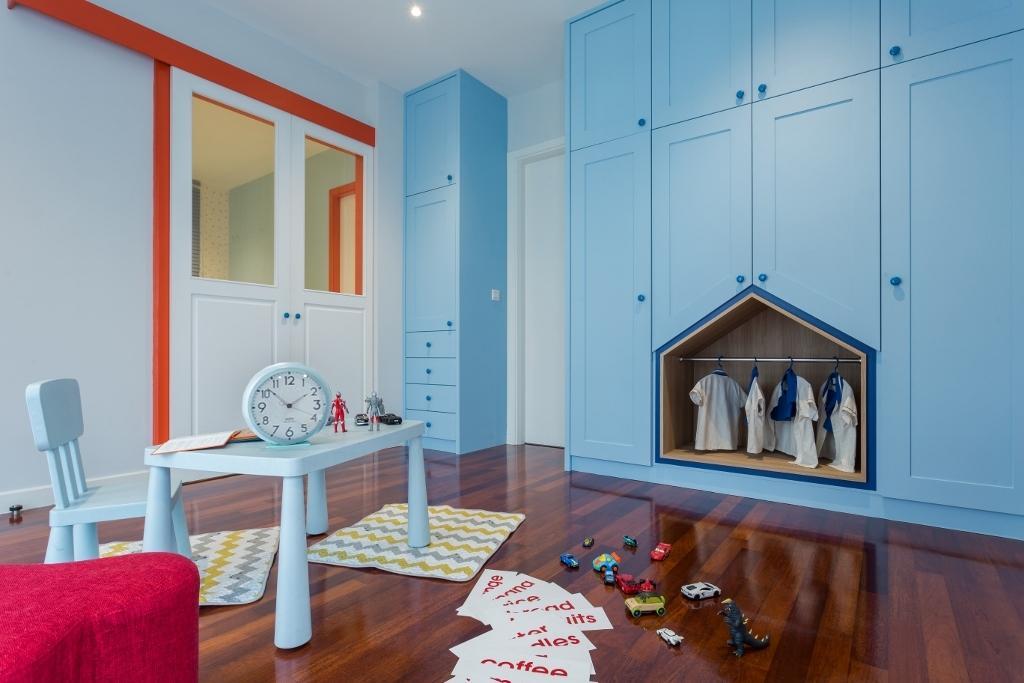 Transitional, Landed, Bedroom, Kota Kemuning, Interior Designer, A Moxie Associates Sdn Bhd, Eclectic, Kids Room