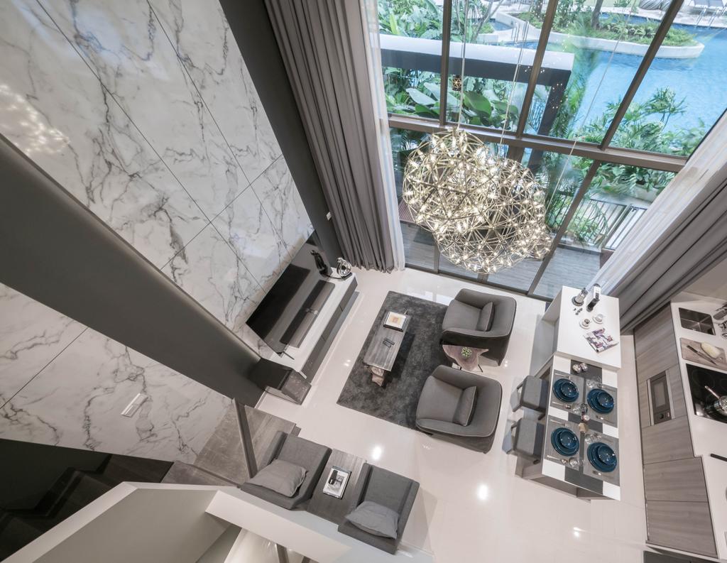 Modern, Condo, Riverbank, Interior Designer, Weiken.com