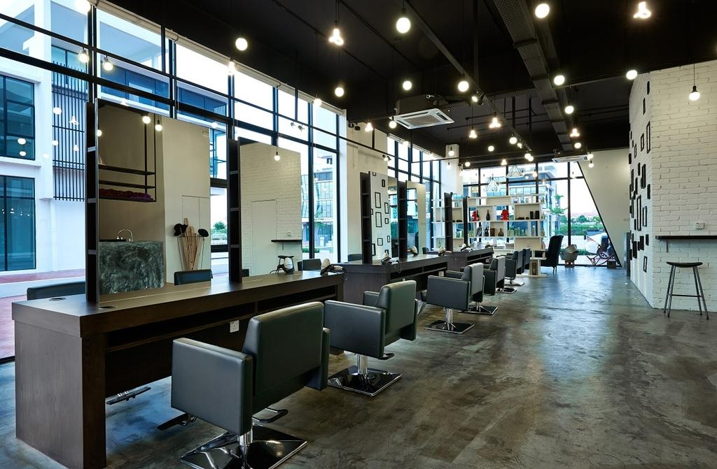 The Editor Hair Salon Ground Floor, Commercial, Interior Designer, Surface R Sdn. Bhd., Industrial, Chair, Furniture, Indoors, Office