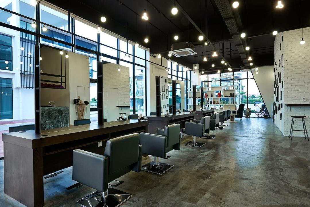 The Editor Hair Salon Ground Floor, Surface R Sdn. Bhd., Industrial, Commercial, Chair, Furniture, Indoors, Office