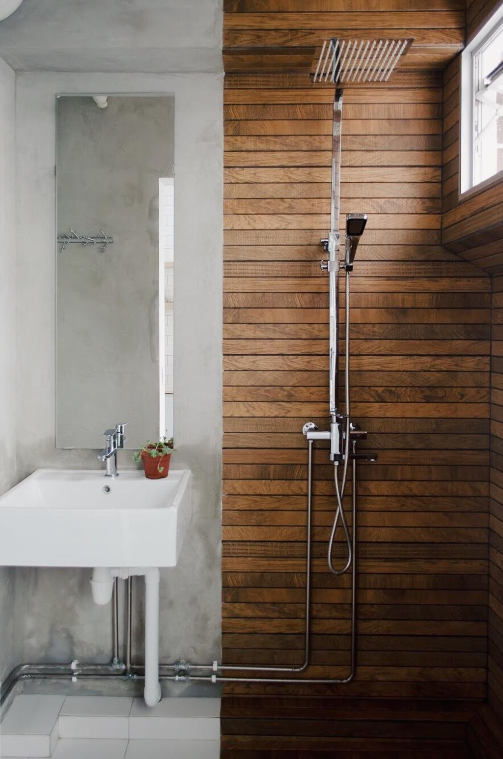 Minimalist, HDB, Bathroom, Hougang Central, Interior Designer, Authors • Interior & Styling