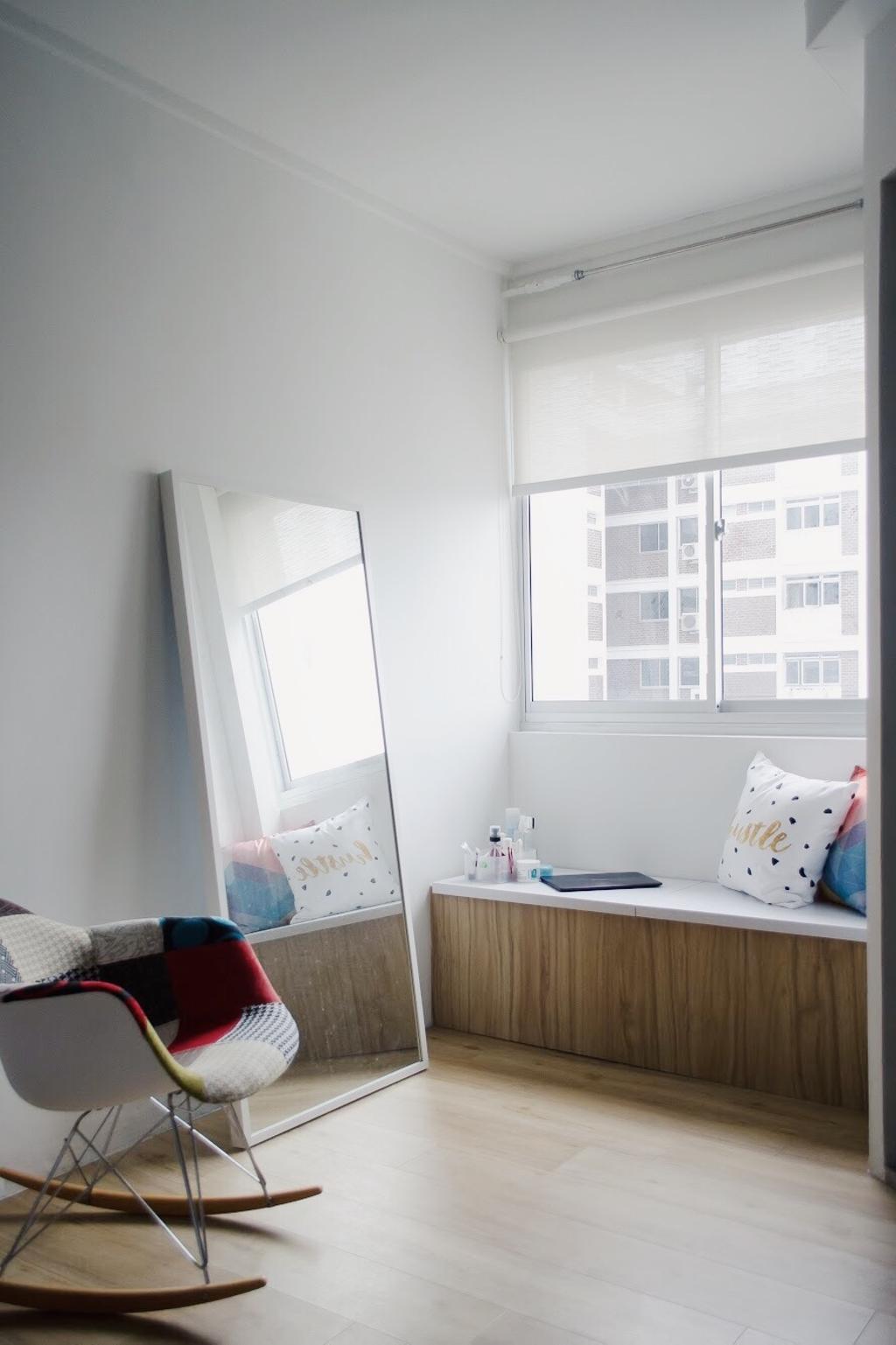 Minimalist, HDB, Hougang Central, Interior Designer, Authors • Interior & Styling, Bedroom, Indoors, Interior Design, Room