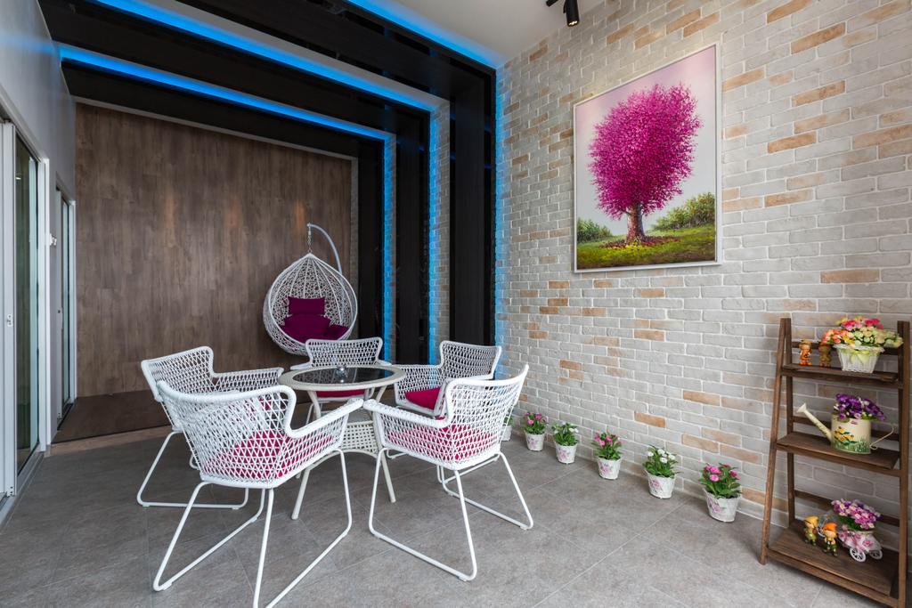 Transitional, Landed, Garden, Ferringhi Residences, Interior Designer, Wood & Col Interior Design, Chair, Furniture, Dining Room, Indoors, Interior Design, Room