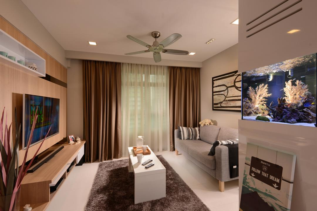 Sengkang West Way Living Room Interior Design 7