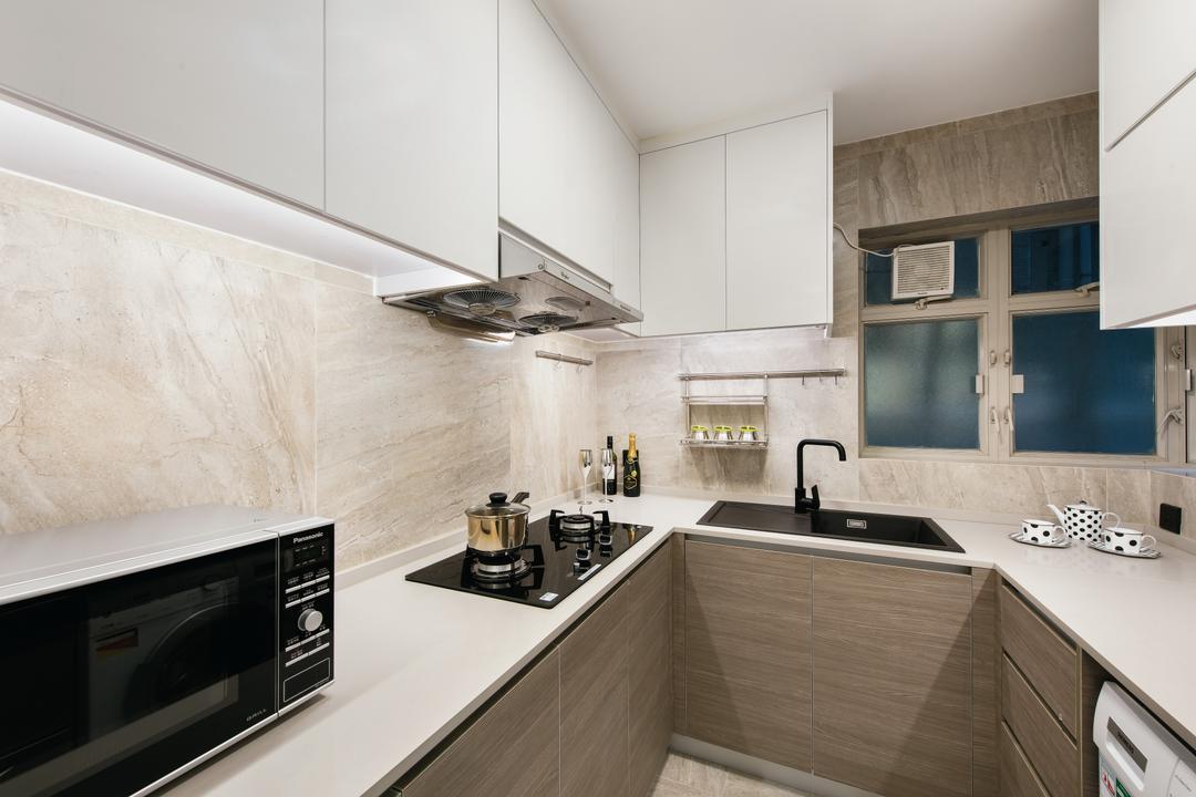 港運城, Space Design, 廚房, 私家樓, Appliance, Electrical Device, Oven, Indoors, Interior Design, Room