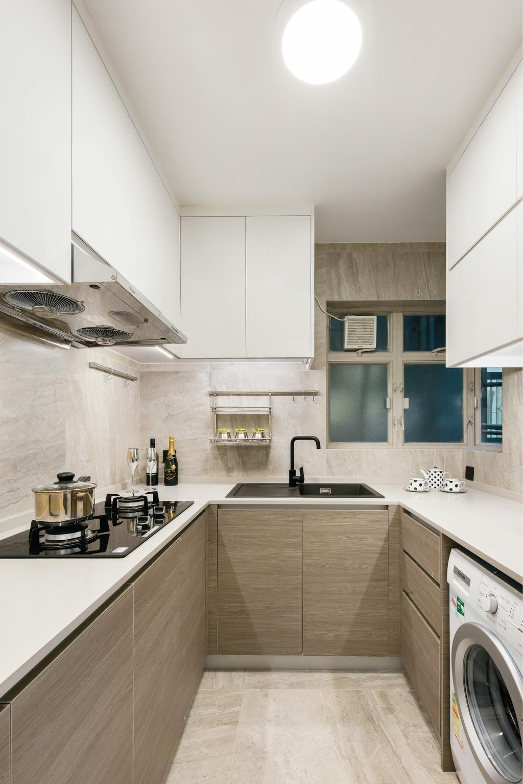 私家樓, 廚房, 港運城, 室內設計師, Space Design, Indoors, Interior Design, Room