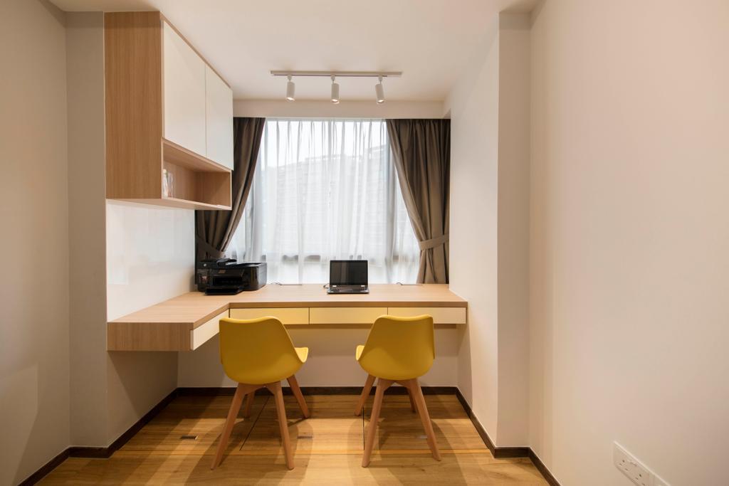 Modern, Condo, Study, D'Nest, Interior Designer, Ascenders Design Studio, Chair, Furniture, Flooring, Indoors, Interior Design