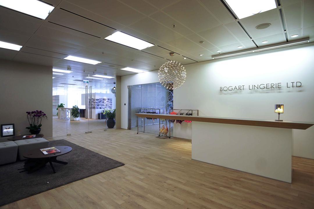 高銀金融國際中心, 和生設計, 商用, Flooring