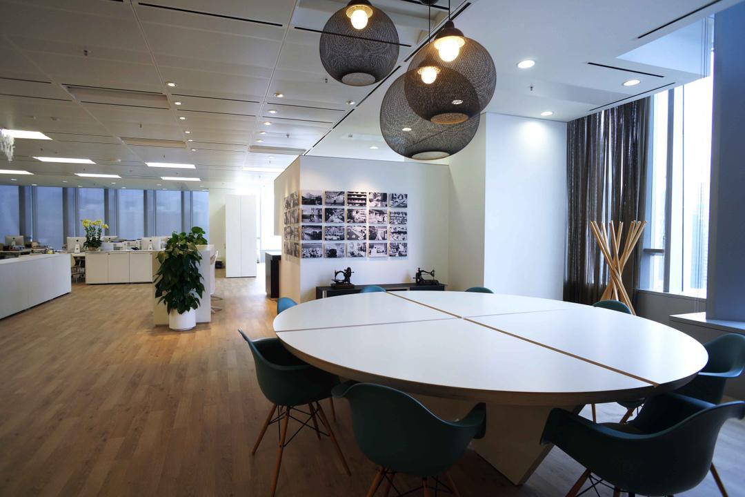 高銀金融國際中心, 和生設計, 商用, Chair, Furniture, Dining Table, Table, 飯廳, Indoors, Interior Design, Room, Conference Room, Meeting Room, Lighting