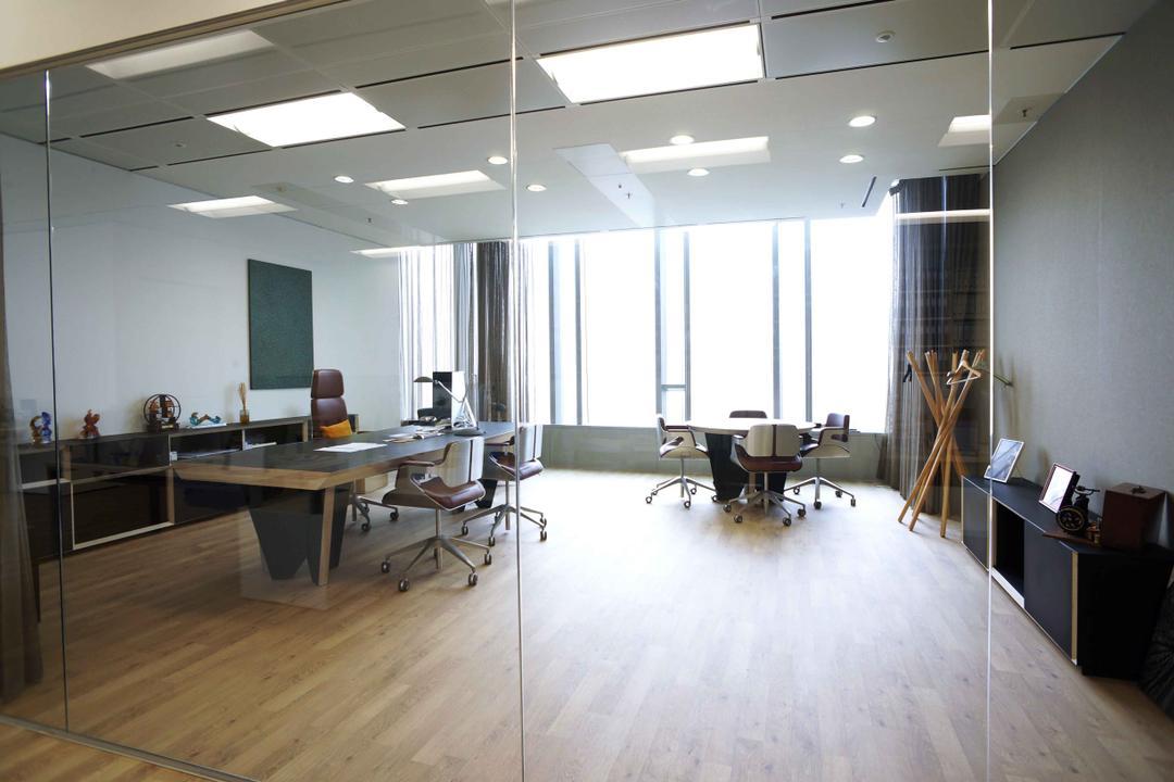 高銀金融國際中心, 和生設計, 商用, Flooring, Dining Table, Furniture, Table, Indoors, Office