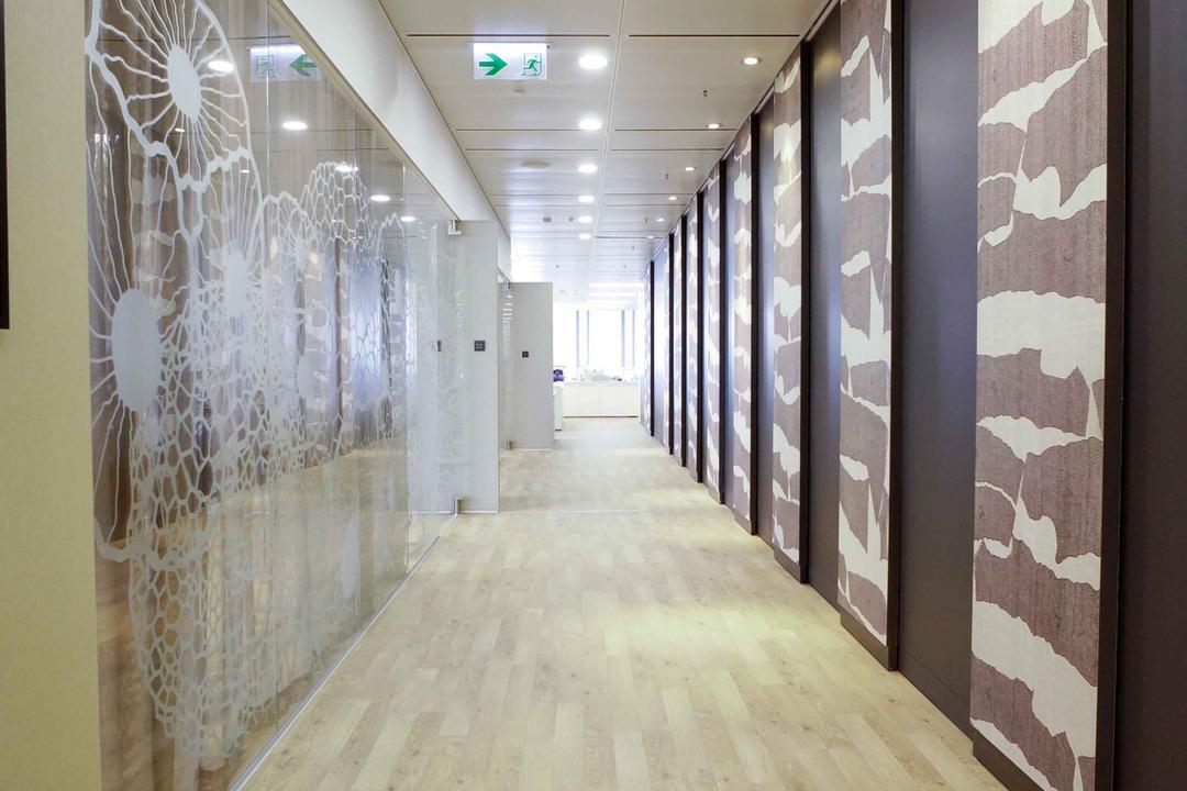 高銀金融國際中心, 和生設計, 商用, Corridor