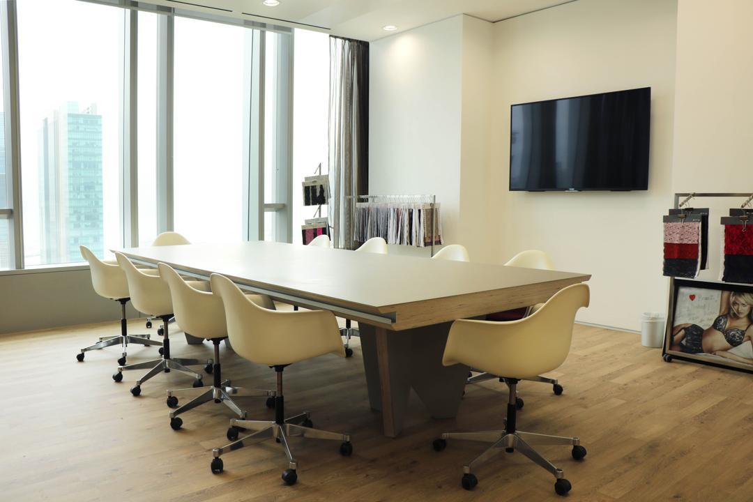 高銀金融國際中心, 和生設計, 商用, Conference Room, Indoors, Meeting Room, Room, Dining Table, Furniture, Table, Chair