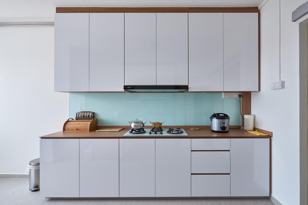 Pasir Ris Street 21, Mesh Room Design, Modern, Kitchen, HDB, Furniture, Sideboard