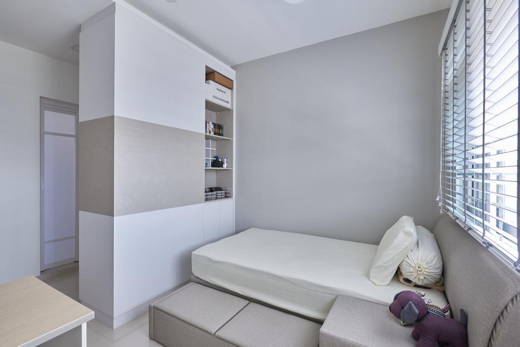 Modern, HDB, Bedroom, Pasir Ris Street 21, Interior Designer, VVID Elements, Indoors, Interior Design