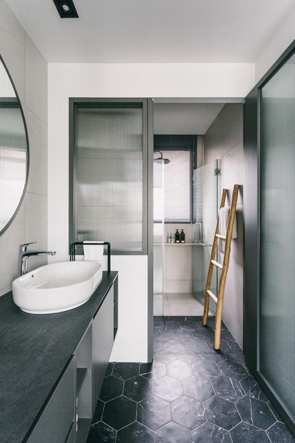 Contemporary, Condo, Bathroom, Seventy Saint Patricks, Interior Designer, Habit, Sink, Bathtub, Tub, Indoors, Interior Design, Room