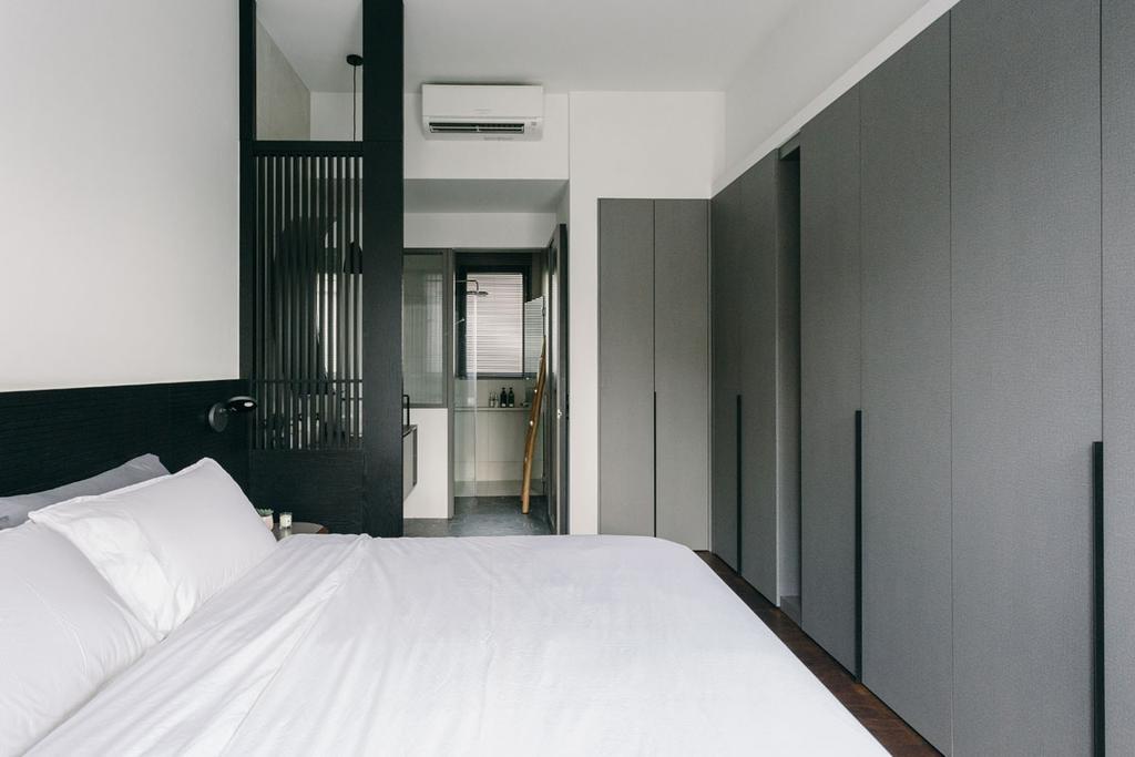 Contemporary, Condo, Bedroom, Seventy Saint Patricks, Interior Designer, Habit, Corridor