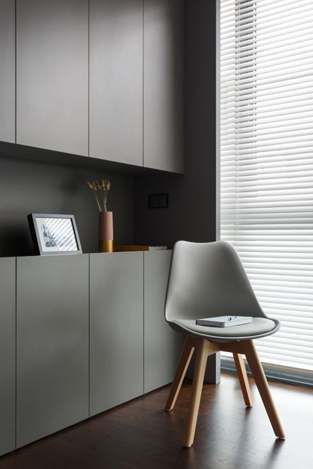 Contemporary, Condo, Living Room, Seventy Saint Patricks, Interior Designer, Habit, Architecture, Building, Skylight, Window