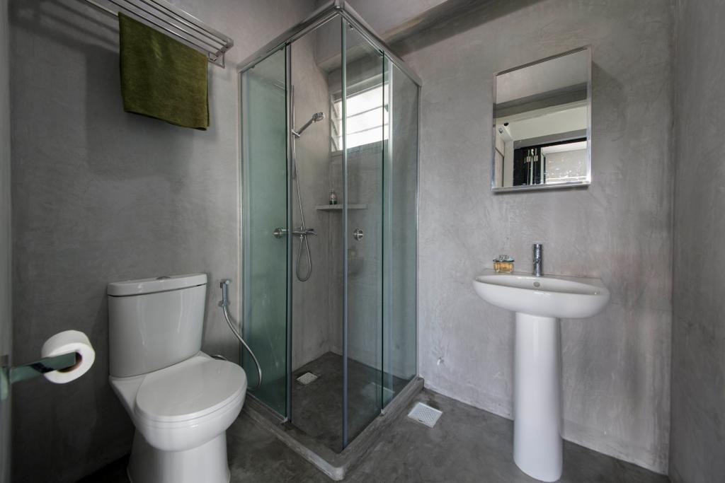 Industrial, HDB, Bathroom, Depot Road, Interior Designer, Goodman Interior